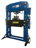Пресс гидравлический T612100A AE&T 100т с ручным и пневмоприводом