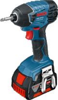 Аккумуляторный ударный шуруповерт Bosch GDR 18 V-LI Professional