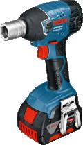 Аккумуляторный ударный гайковёрт Bosch GDS 18 V-LI Professional
