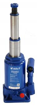 Домкрат бутылочный двухштоковый T02004 AE&T 4т
