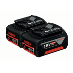Комплект аккумуляторов GBA 18 В 4,0 А*ч M-C Bosch Professional