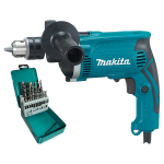 Дрель ударная Makita HP 1630 KX2 (HP1630KX2)
