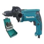 Дрель ударная Makita HP 1631 KX2 (HP1631KX2)