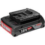Аккумулятор GBA 18 В 2,0 А*ч M-B Bosch Professional