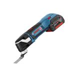 Аккумуляторный многофункциональный инструмент GOP 18 V-EC Bosch Professional