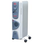 Масляный радиатор напольный Ресанта ОМ-7НВ с тепловентилятором