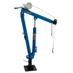 Мини кран гидравлический гаражный Т62102A AE&T 500 кг с лебедкой