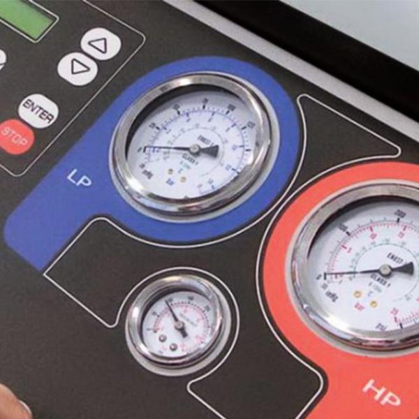 Robinair ACM3000 панель управления