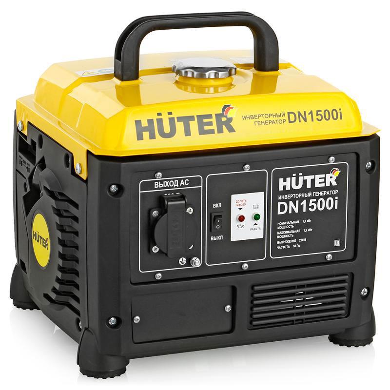 Huter DN1500i инверторный электрогенератор 1,1 кВт
