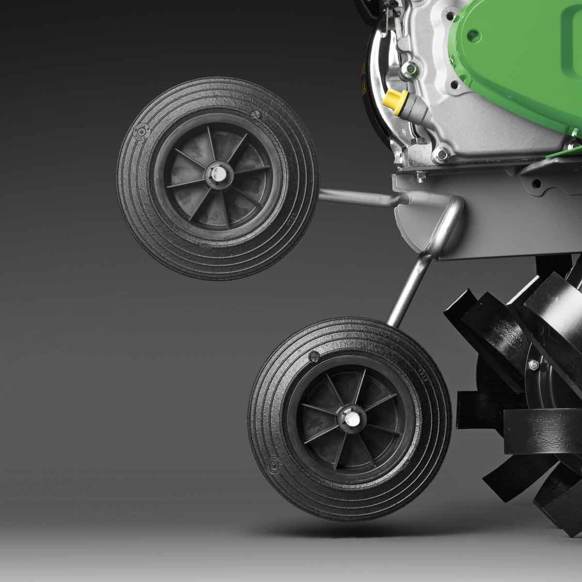 Откидное транспортировочное колесо