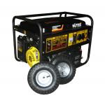 Бензогенератор Huter DY6500LX с электростартером, колесами и аккумулятором