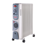 Масляный радиатор Ресанта ОМ-12НВ с тепловентилятором