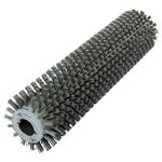 Брашировальная щетка валик Д163х635мм, ворс полимер абразив P80