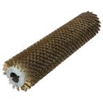 Брашировальная щетка валик Д157х635мм, ворс корд сталь латунь d0,3
