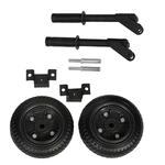 Комплект колёс и ручек для транспортировки бензогенераторов Huter DY8000